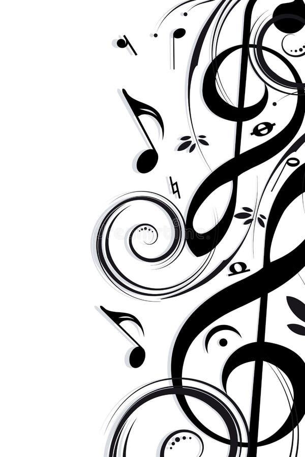 Hintergrund-Musik lizenzfreie abbildung