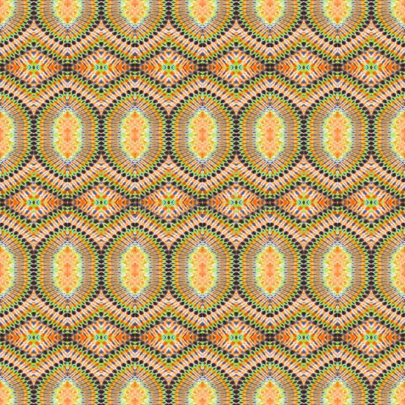 Hintergrund-nahtloses abstraktes Bindungs-Färbungs-Muster lizenzfreies stockfoto