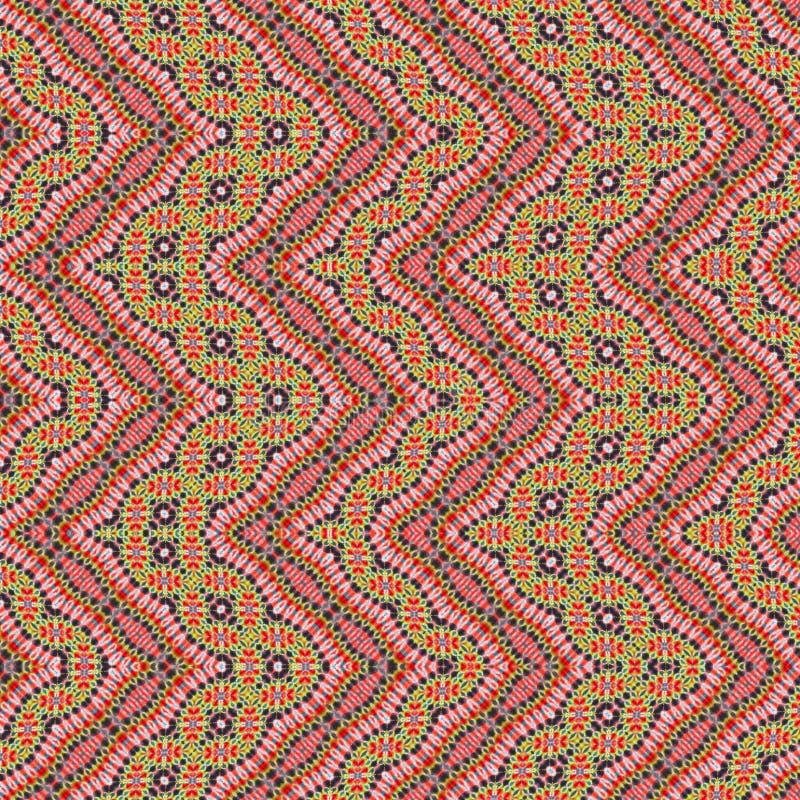 Hintergrund-nahtloses abstraktes Bindungs-Färbungs-Muster lizenzfreie stockbilder