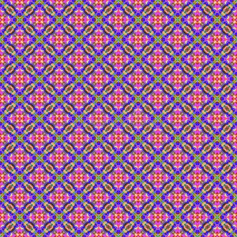 Hintergrund-nahtloses abstraktes Bindungs-Färbungs-Muster lizenzfreie stockfotografie