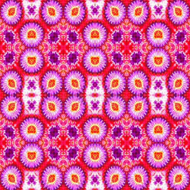 Hintergrund-nahtloses Bindungs-Färbungs-Muster lizenzfreie stockbilder