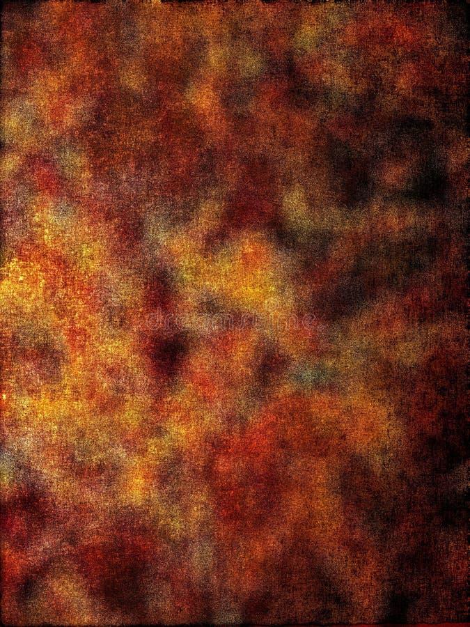 Hintergrund, rostige Farben vektor abbildung