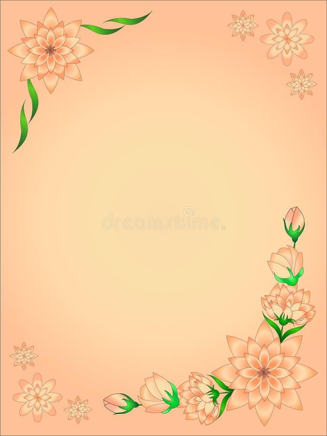 Hintergrund, schöner Hintergrund, Hintergrund im Illustrator lizenzfreie abbildung