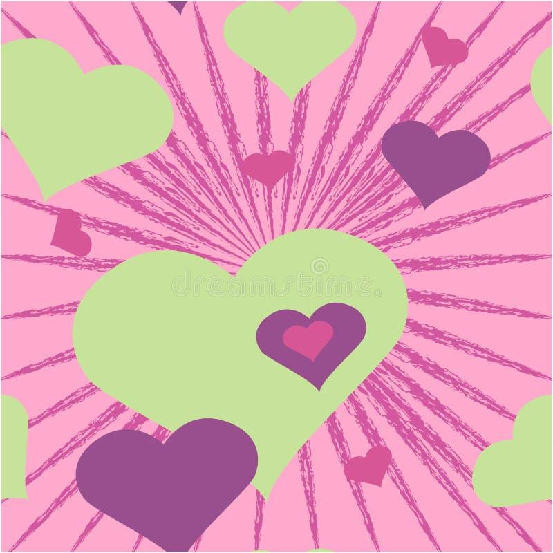 Hintergrund-Valentinstag stock abbildung