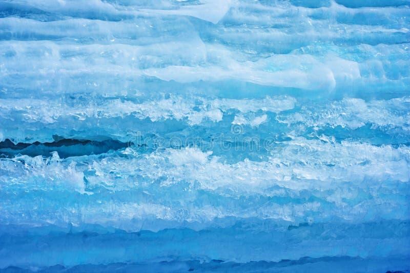 Hintergrund vom Eis stockfoto