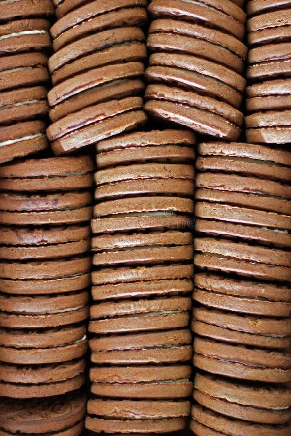 Hintergrund vom Lebensmittel Keks stockbilder