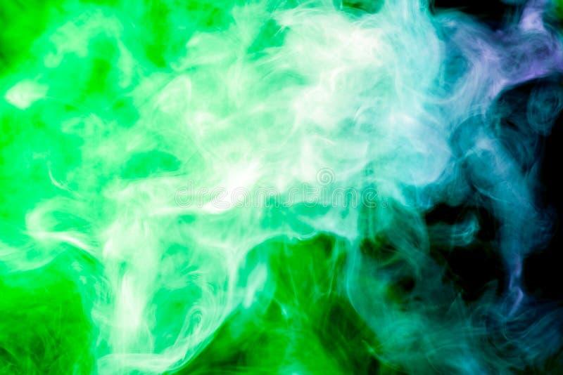 Hintergrund vom Rauche von vape stockbild