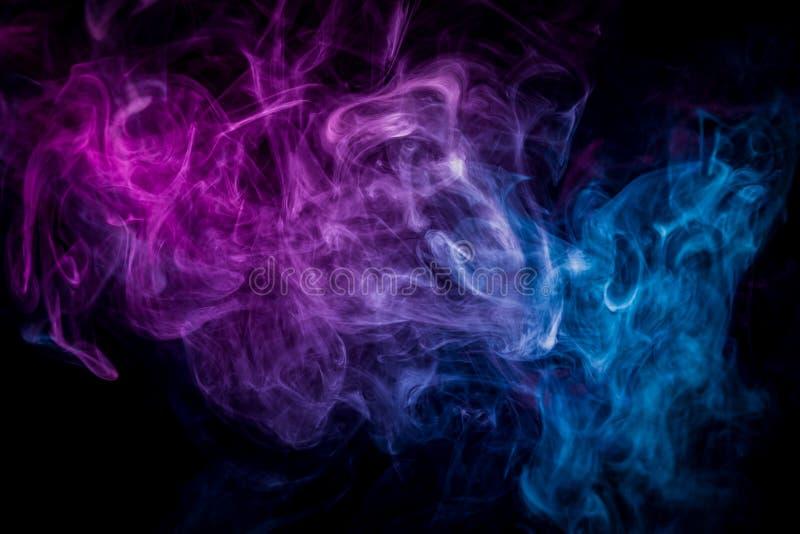 Hintergrund vom Rauche von vape stock abbildung