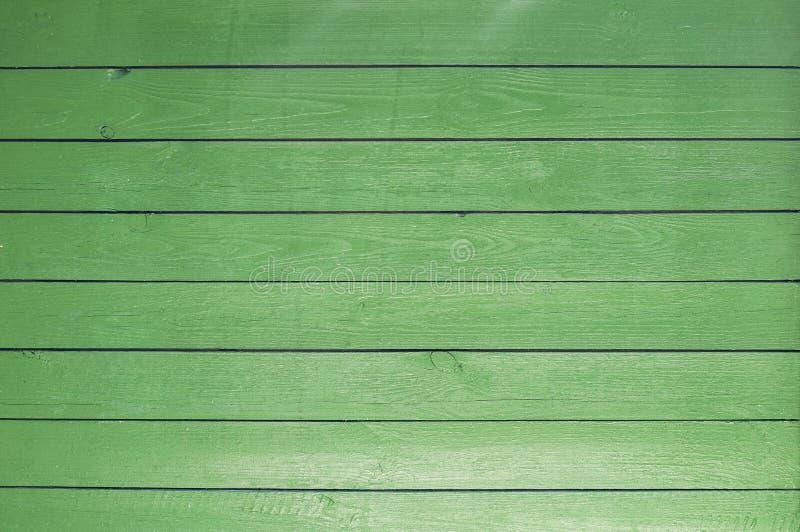 Hintergrund von alten gemalten grünen Brettern stockbilder