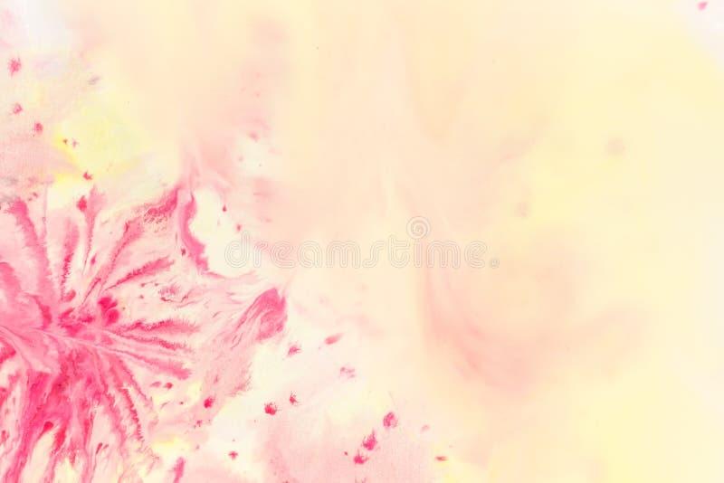 Hintergrund von Aquarellfarben lizenzfreie stockfotografie