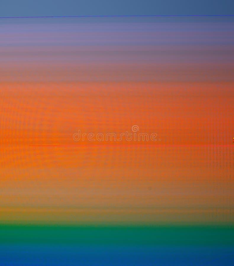 Hintergrund von den glatten Steigungsübergängen von blauen, grünen, orange Farben lizenzfreie stockfotos