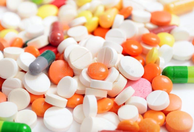 Hintergrund von den Tabletten lizenzfreie stockfotos