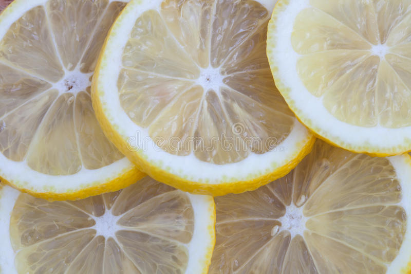 Hintergrund von der Zitrone stockbild