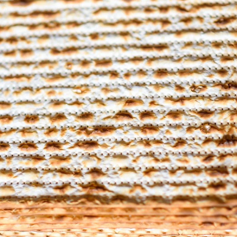 Hintergrund von matza, j?disches Passahfest lizenzfreie stockbilder