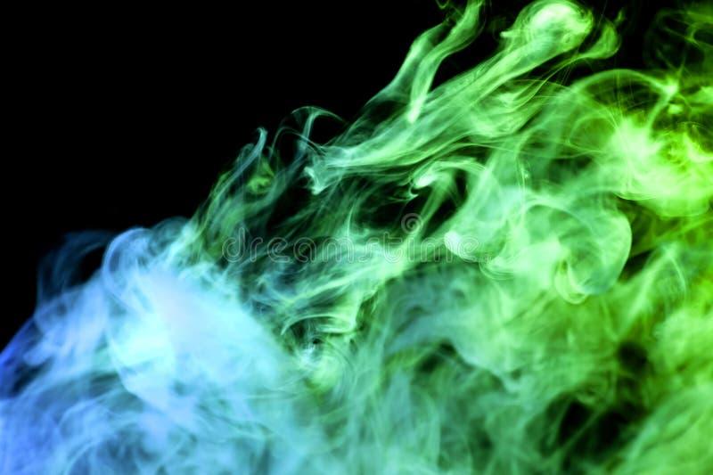 Hintergrund von Rauch vape stockfoto