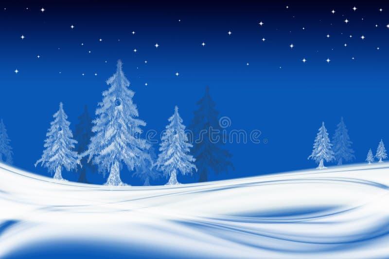 Hintergrund-Weihnachten lizenzfreie abbildung