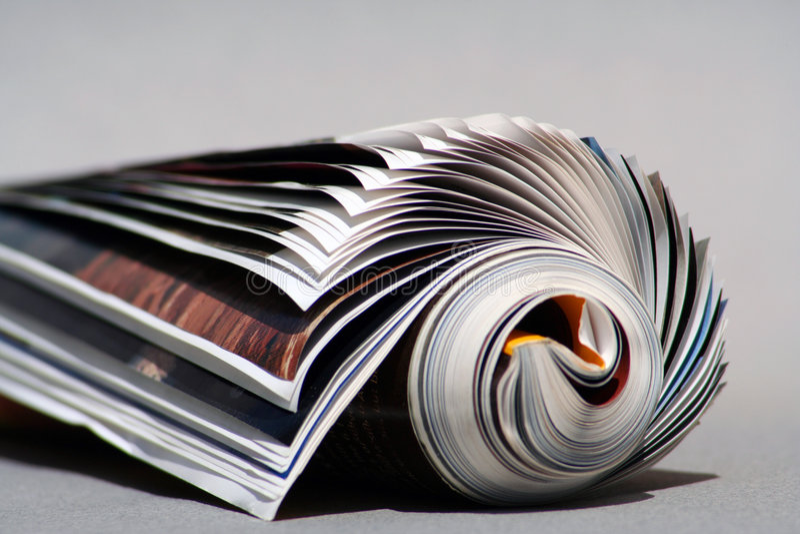 Hintergrund-Zeitschrift lizenzfreie stockfotos