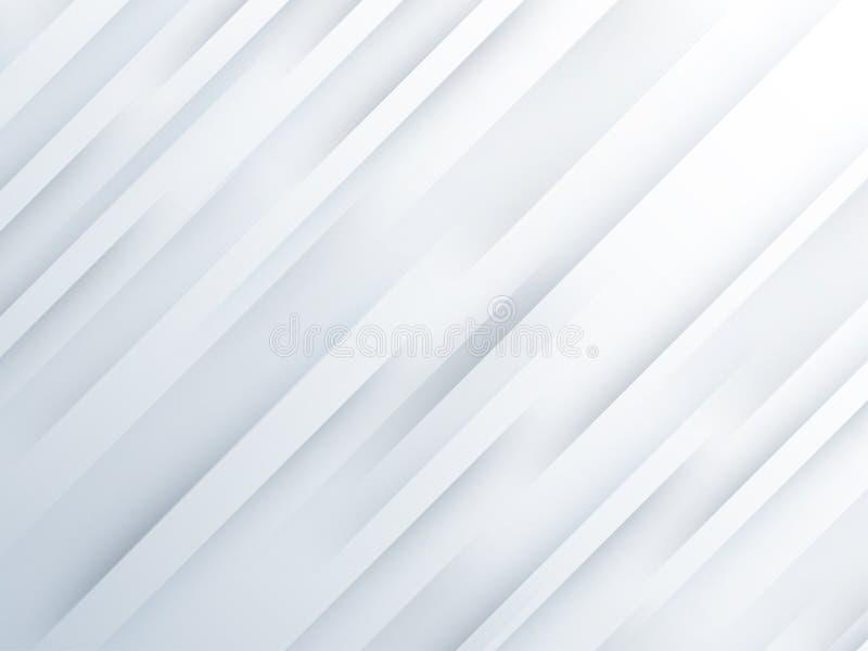 Hintergrund-Zusammenfassungslinien des Vektors weiße vektor abbildung