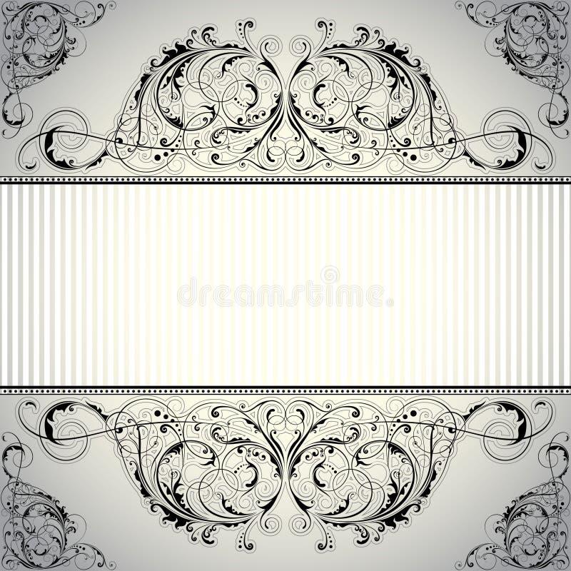 Hintergrundaufkleberblumenmuster lizenzfreie abbildung