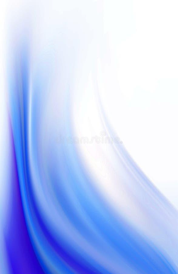 Hintergrundblau stock abbildung