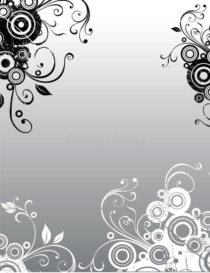 Hintergrundblumen lizenzfreie abbildung