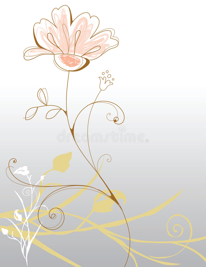Hintergrundblumen Stockbild