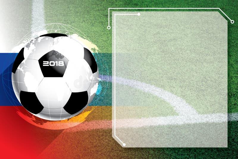 Hintergrundfußballfußball Wettbewerbszeitplan stockfotografie