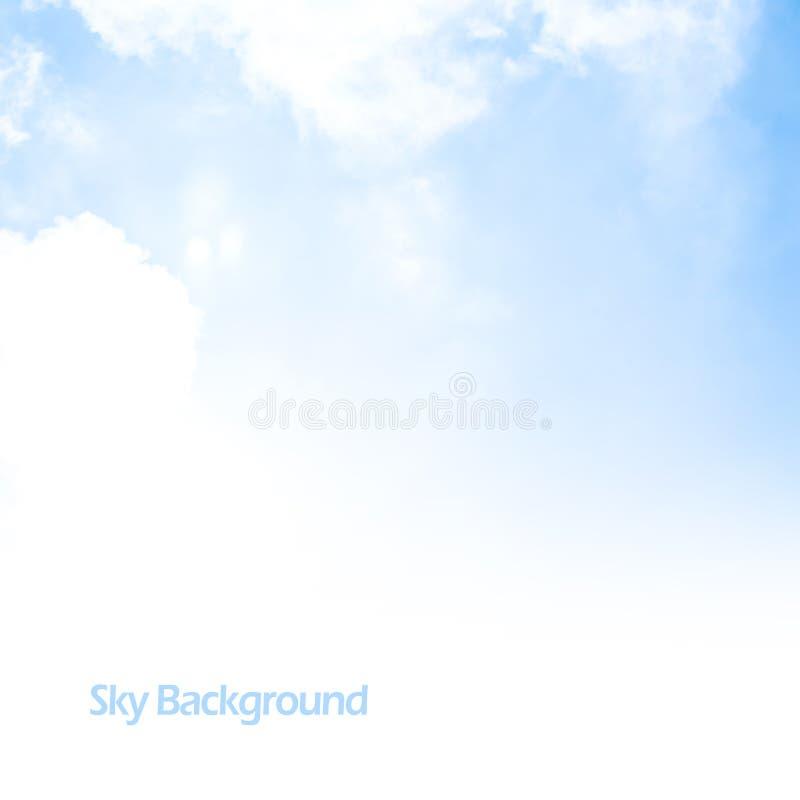 Hintergrundgrenze des blauen Himmels lizenzfreie stockbilder