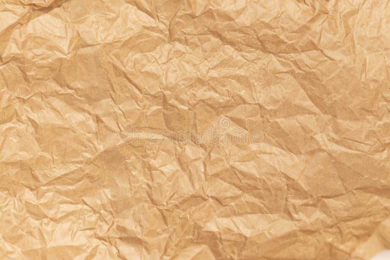 Hintergrundinformationen zum geplagten Brown Paper stockbild