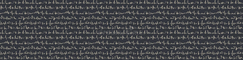 Hintergrundinformationen zur Handschrift von unleserlichem Text-Texturtextur Nahtlose Buchstabenreihenlinie - Bordüre Monochrom stock abbildung