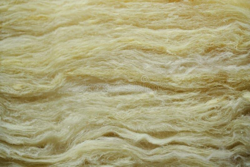 Hintergrundmaterial der Glaswolleisolierung lizenzfreies stockbild