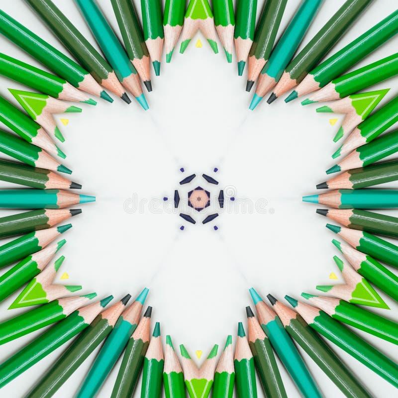 Hintergrundmehrfarbenzusammenfassungskaleidoskop bunt Illustration kalamkari stock abbildung