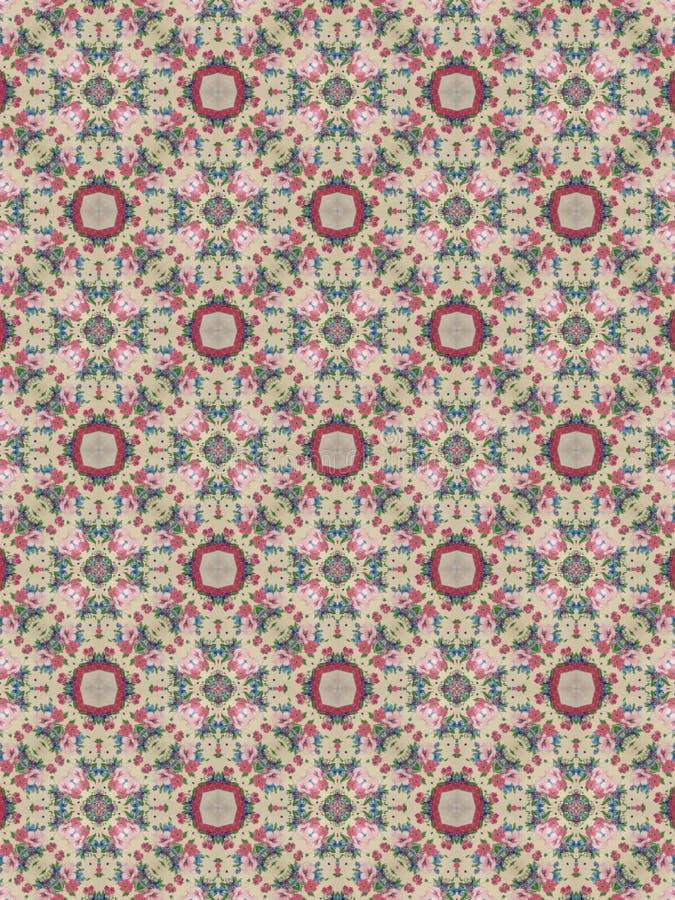 Hintergrundmit Blumenrosa und grün stockfotografie