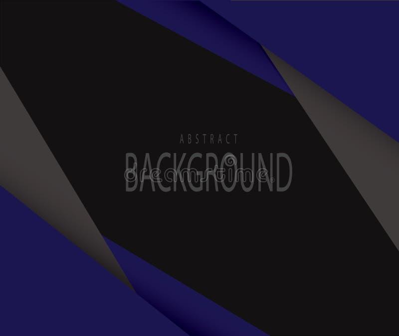 Hintergrundmuster blau und schwarz lizenzfreies stockbild