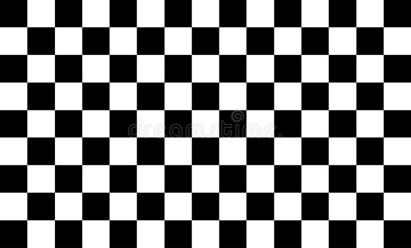 Hintergrundmuster, wei?e Quadrate, die mit schwarzen modernen Technologiekonzepten und schnelle abwechseln und unkomplizierte Arb vektor abbildung