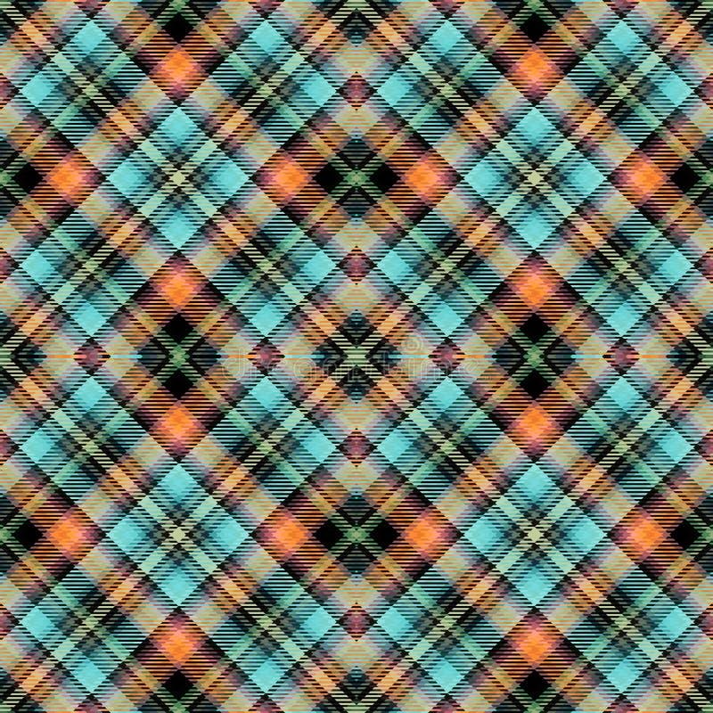 Hintergrundschottenstoff, nahtloses abstraktes Muster, irische Briten stock abbildung