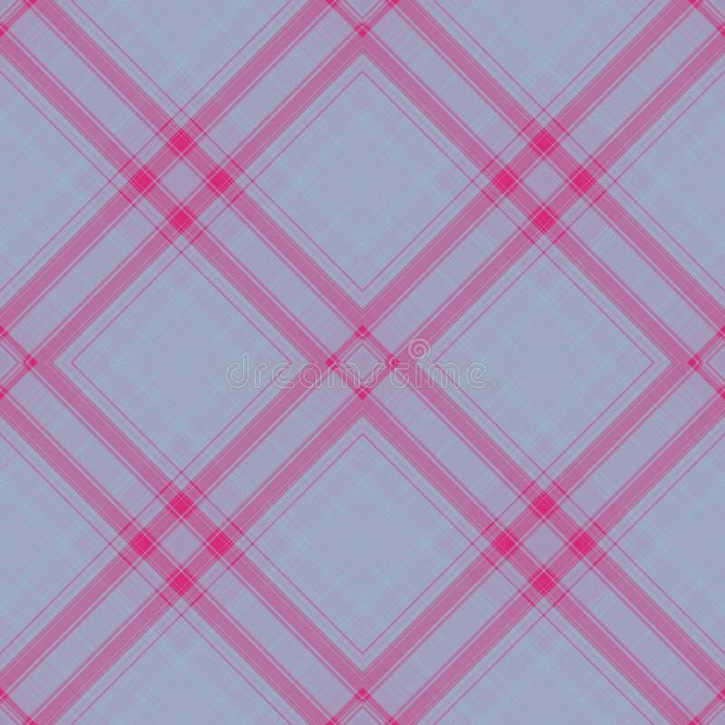 Hintergrundschottenstoffmuster mit nahtloser Zusammenfassung, Plaid keltisch vektor abbildung