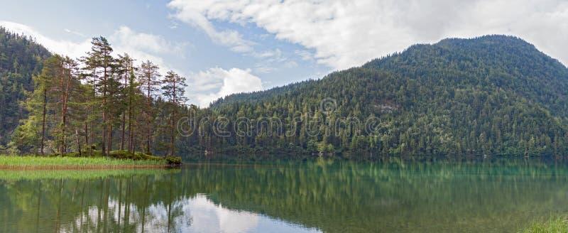 Hintersteiner voient, Wilder Kaiser, le Tirol, Autriche image libre de droits