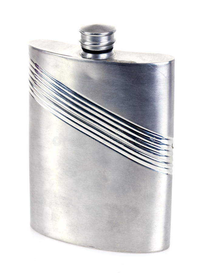 Free Hip Flask Royalty Free Stock Photography - 21484787