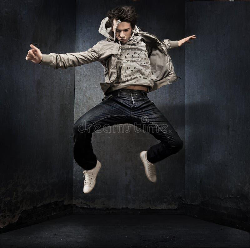 Hip Hop年轻人 免版税库存照片