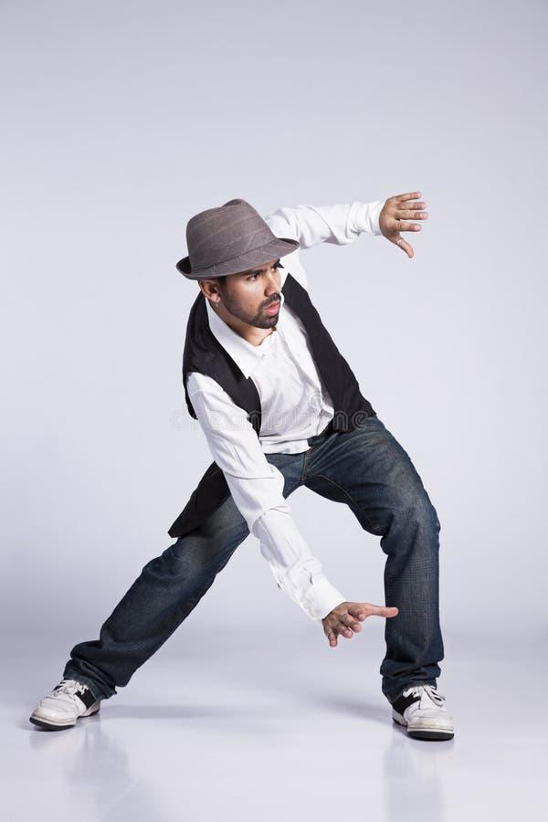 Hip Hop舞蹈家 图库摄影