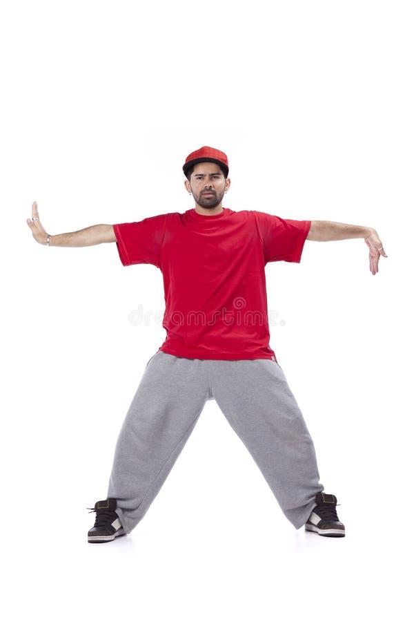 Hip Hop舞蹈演员 图库摄影