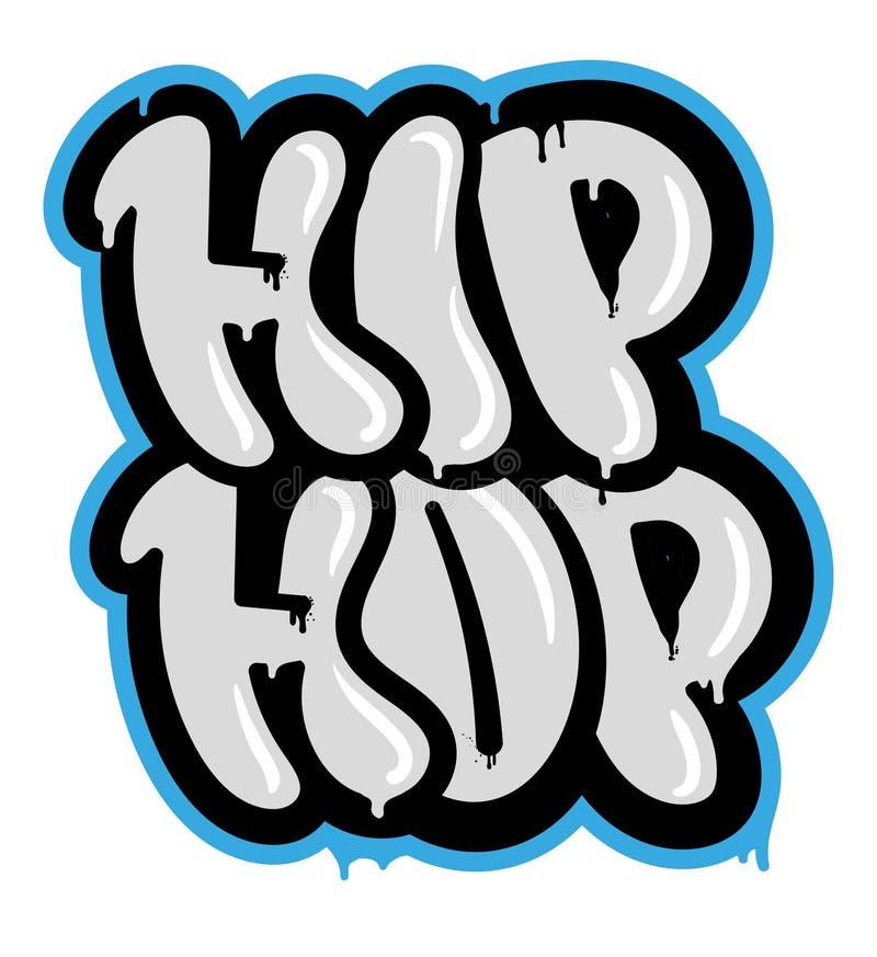 Hip Hop stock de ilustración