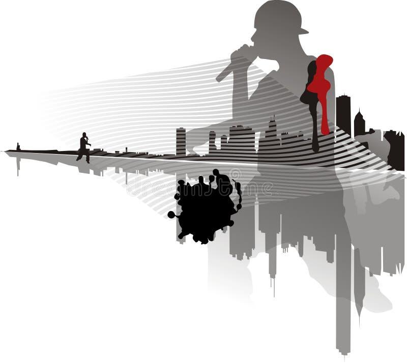 hip hop ilustracja wektor