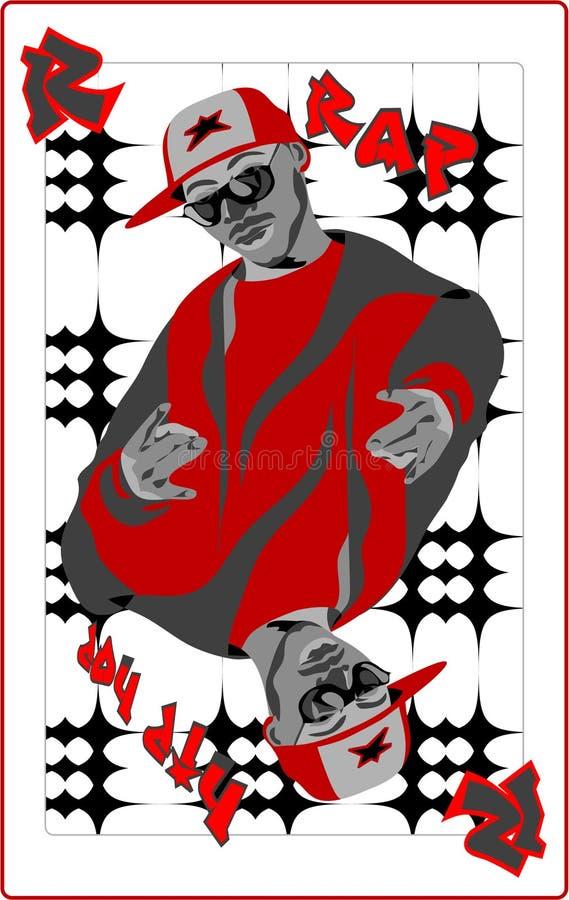 hip hop royalty ilustracja