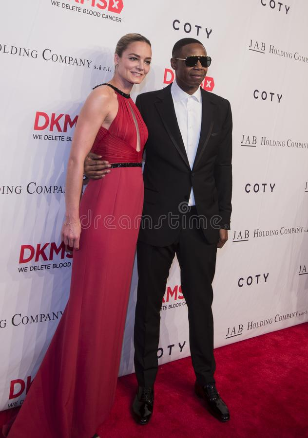 Manhattan, New York City, May 2, 2018, Cipriani on Wall Street: DKMS Love Gala royalty free stock photo