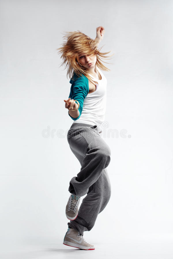 Free Hip-hop Dancer Royalty Free Stock Images - 15220979