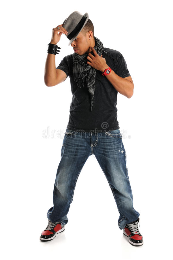 Download Hip Hop Dancer stock image. Image of young, pose, black - 16787497
