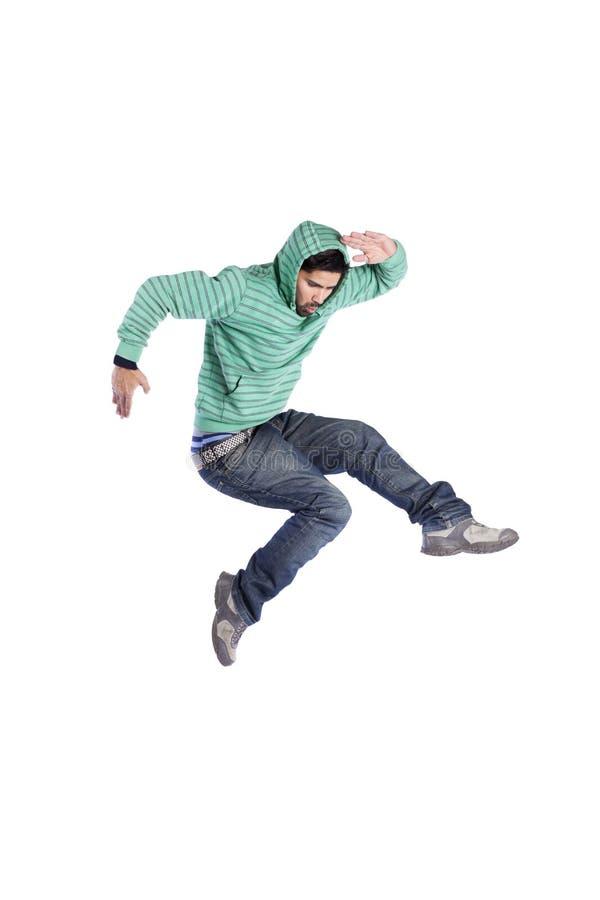 Hip hop dancer stock image