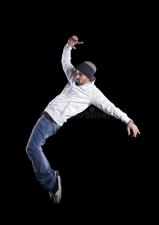 Hip hop dancer stock images